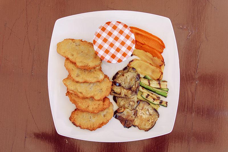 Tortel di patate vegetariano